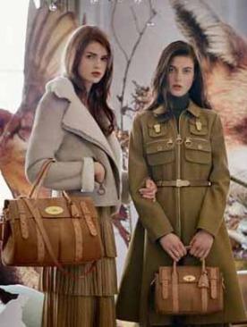 Рекламная кампания Mulberry осень 2011