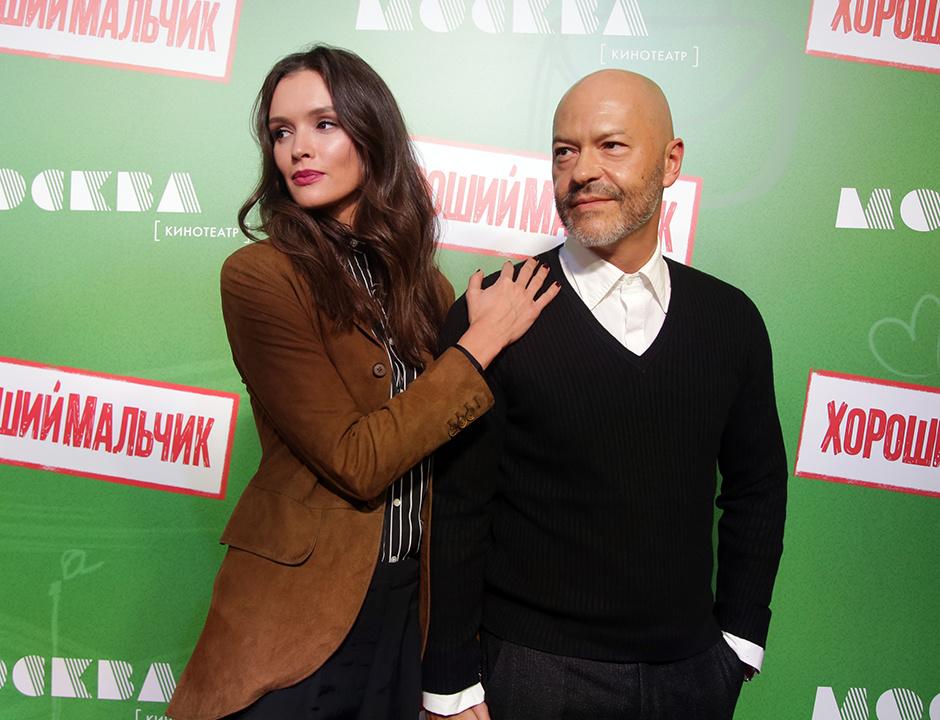 Паулина Андреева и Федор Бондарчук на премьере фильма «Хороший мальчик»