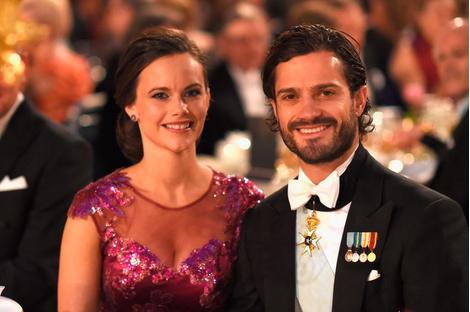 Принц Швеции Карл Филипп и София Хельквист