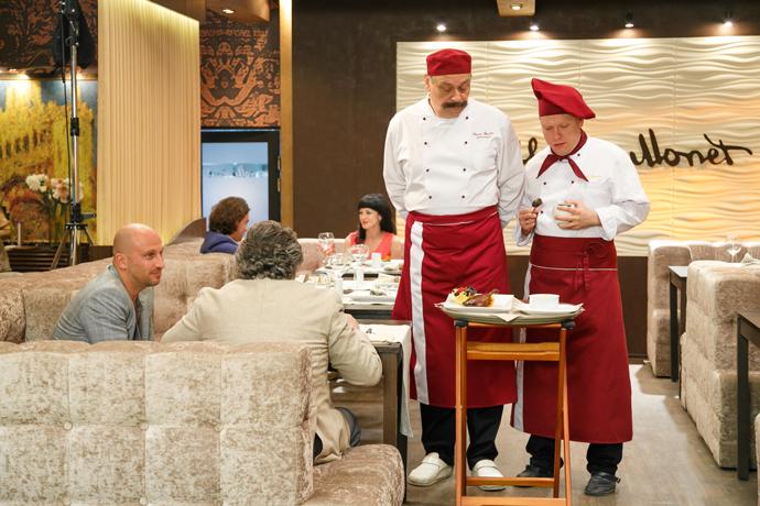 Кадр из сериала «Кухня»