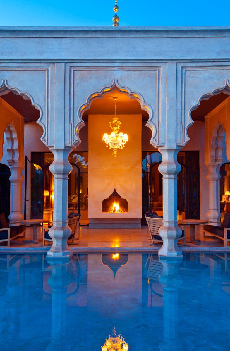 Марокканская сказка в отеле Palais Namaskar в Марракеше