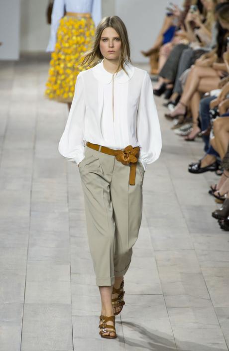 Показ Michael Kors на Неделе моды в Нью-Йорке