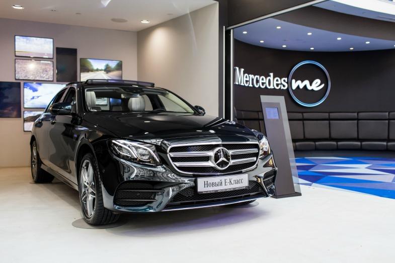 Новая модель Mercedes-Benz появилась в России
