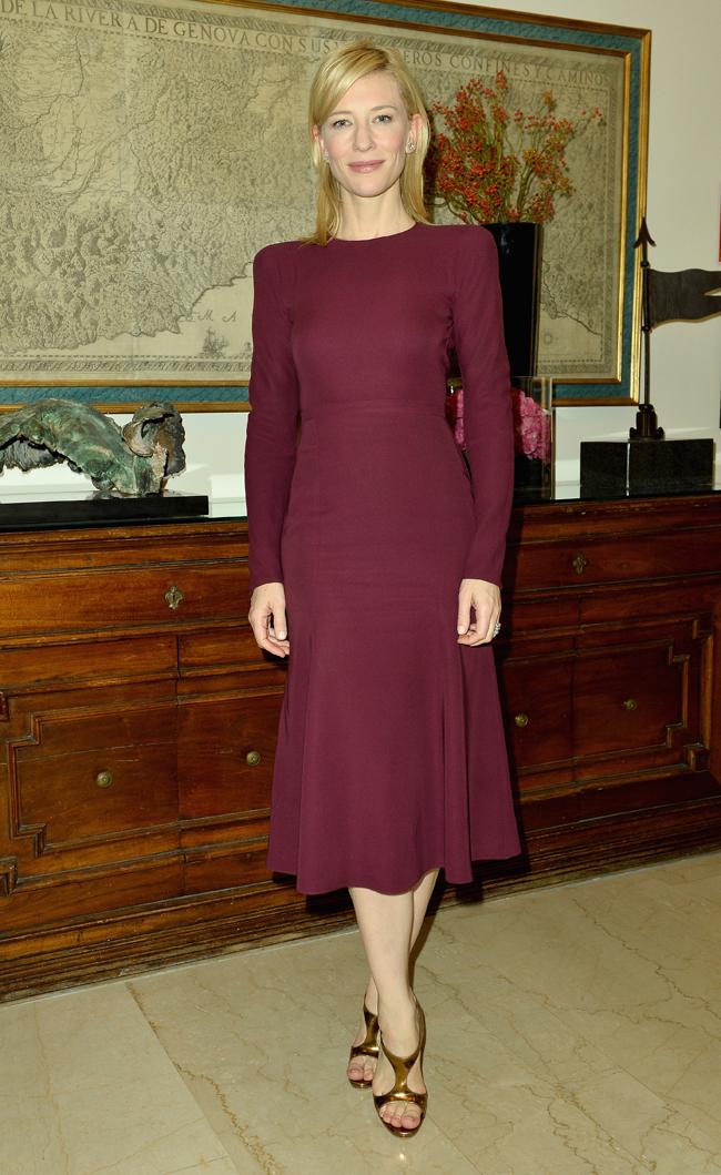Кейт Бланшетт в Gucci
