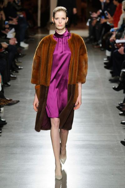 Показ Oscar de la Renta на Неделе моды в Нью-Йорке | галерея [1] фото [29]
