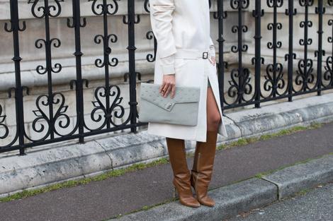 Аксессуары на Неделе моды в Париже