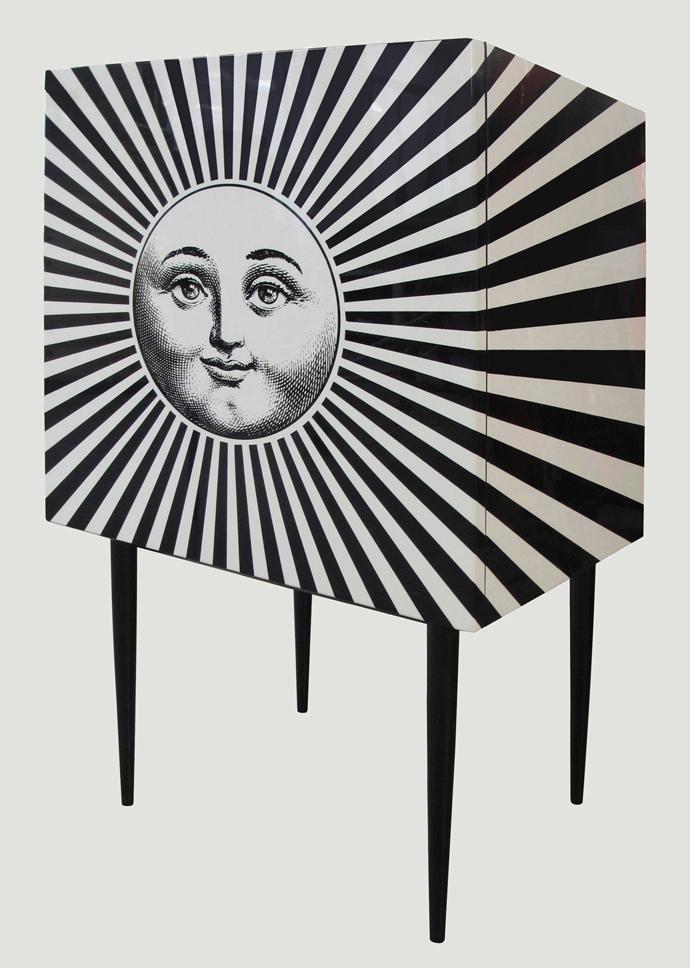 Fornasetti, комод, мебель, дизайна, Пьеро Форназетти