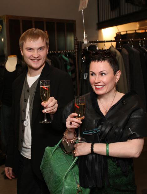 Роза Каменев и Алексей Олешов