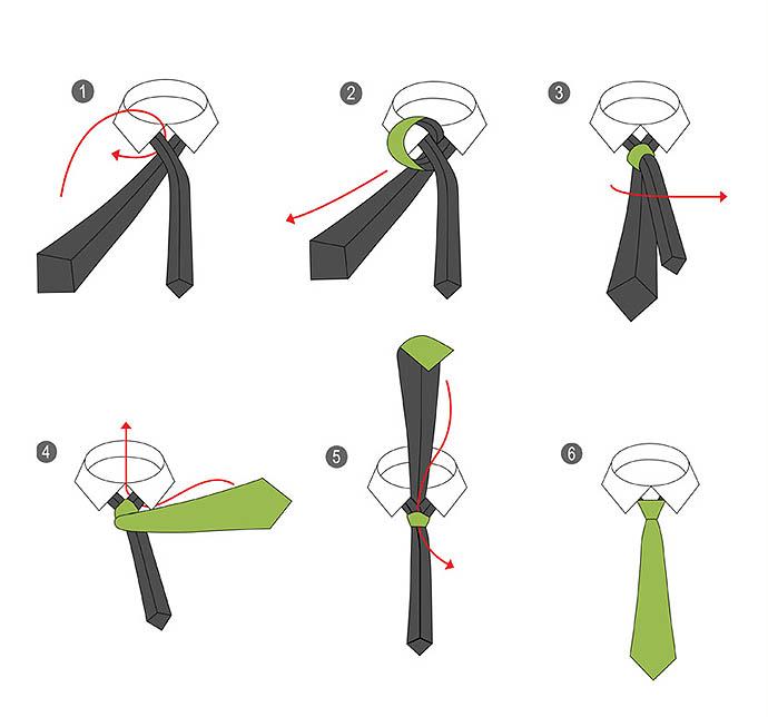 Как завязывать галстук фото 2016