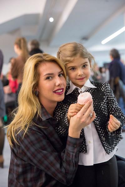 Нелли Давыдова с дочерью