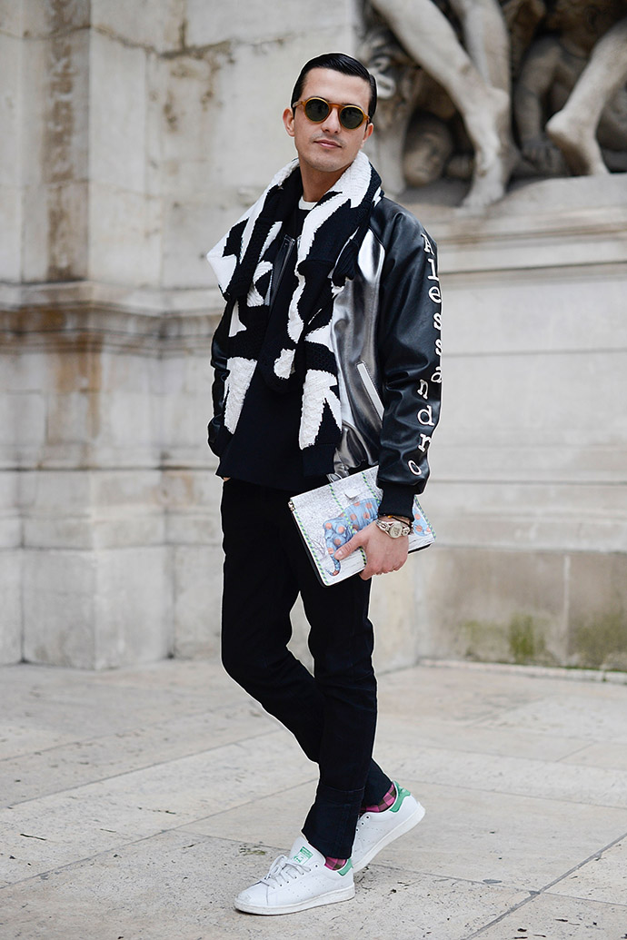 неделя моды в париже street style