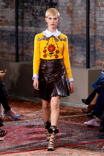 Дом Gucci представил новую круизную коллекцию 2016 | галерея [2] фото [23]