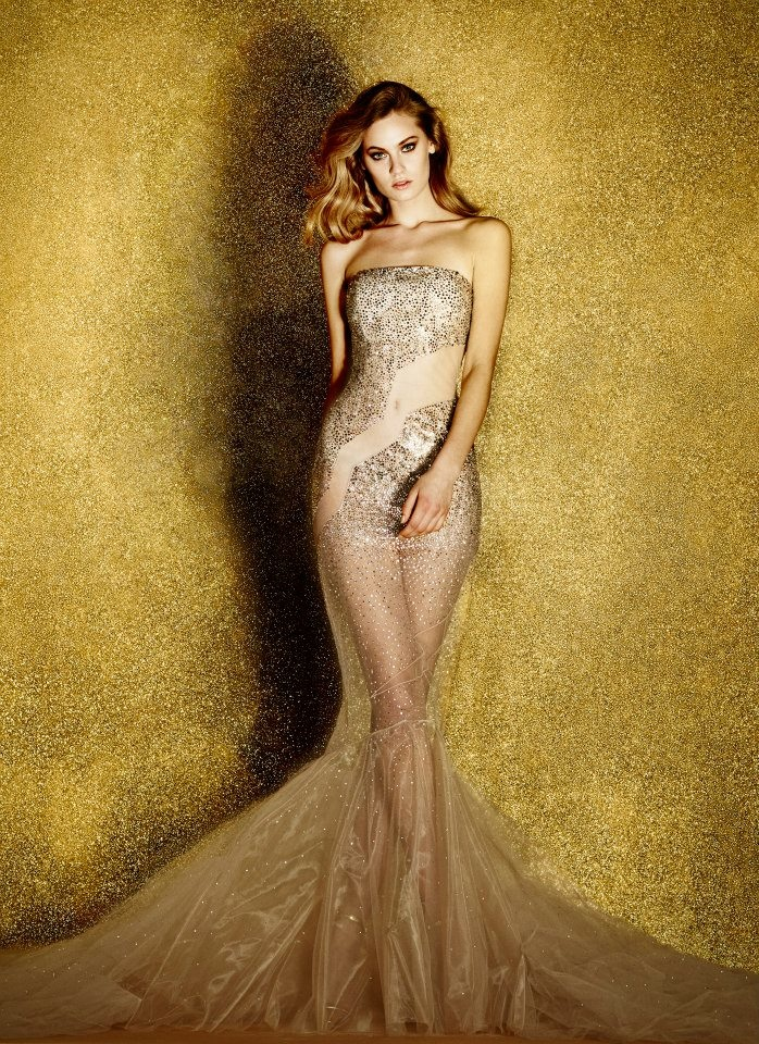 Платье от Azzaro: фото