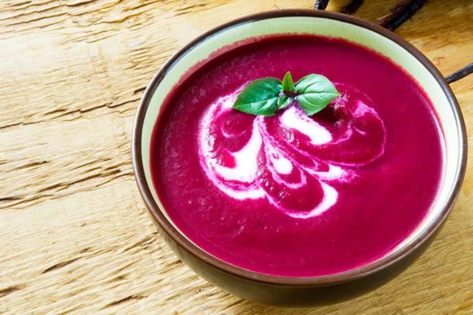 Свекольный суп с пряностями