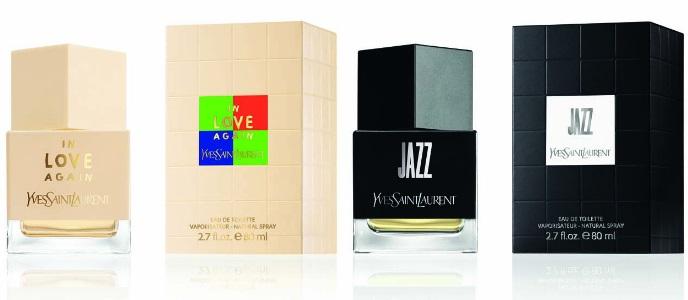 In Love Again и Jazz от Yves Saint Laurent