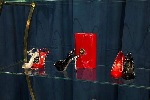 Обувь и клатч Sergio Rossi