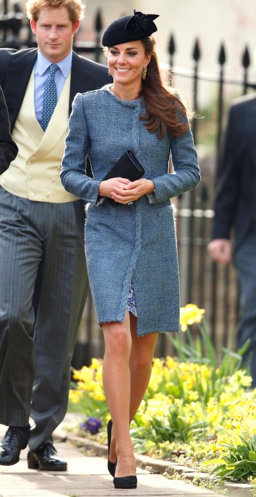 Кейт Миддлтон, Принц Уильям и Принц Гарри посетили свадьбу друзей