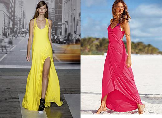 Фото пляжной моды: DKNY, Victoria's Secret