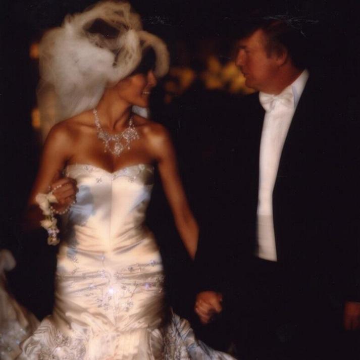 Свадьба Мелании и Дональда Трампа