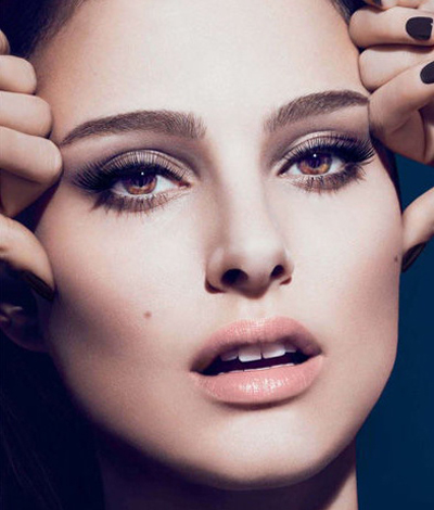 Natalie Portman In DiorShow New Look Mascara