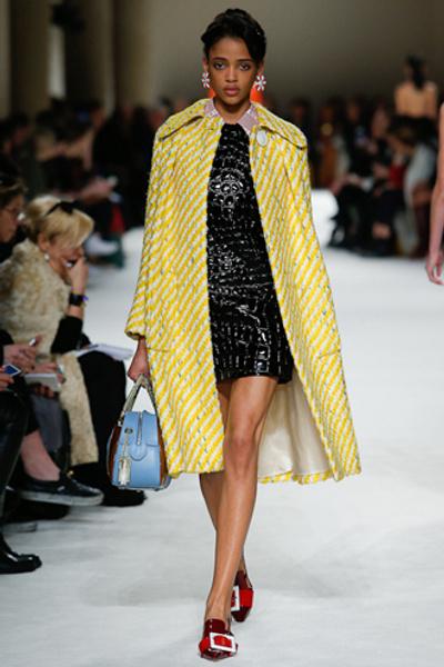Неделя моды в Париже: показ Miu Miu pret-a-porter осень-зима 2015/16 | галерея [1] фото [12]