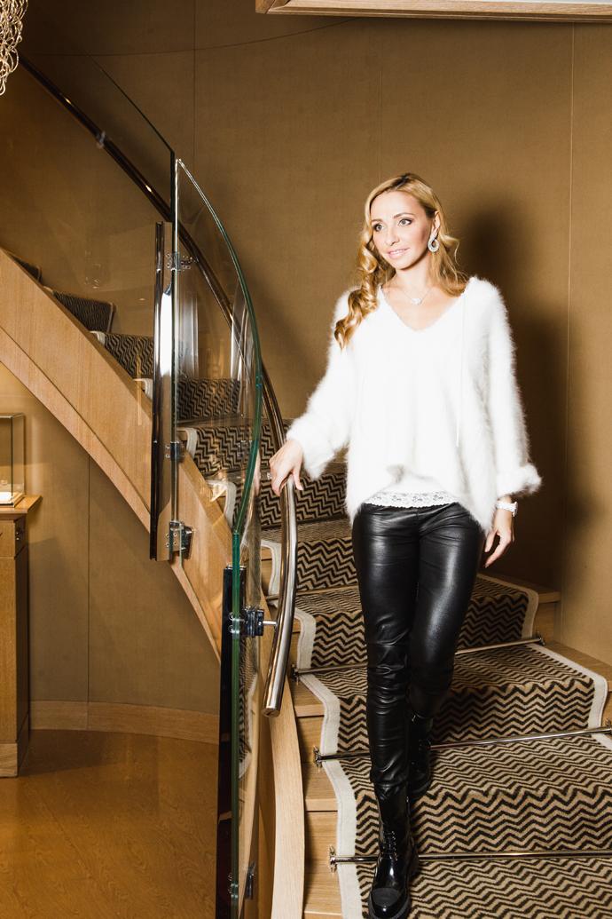 Татьяна Навка стала посланницей бренда Chopard