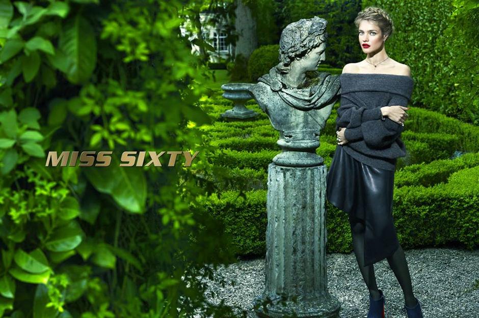 Наталья Водянова рекламирует Miss Sixty