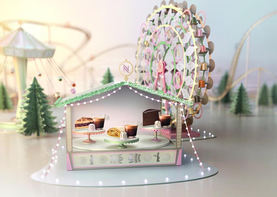 Nespresso представил праздничную коллекцию блендов