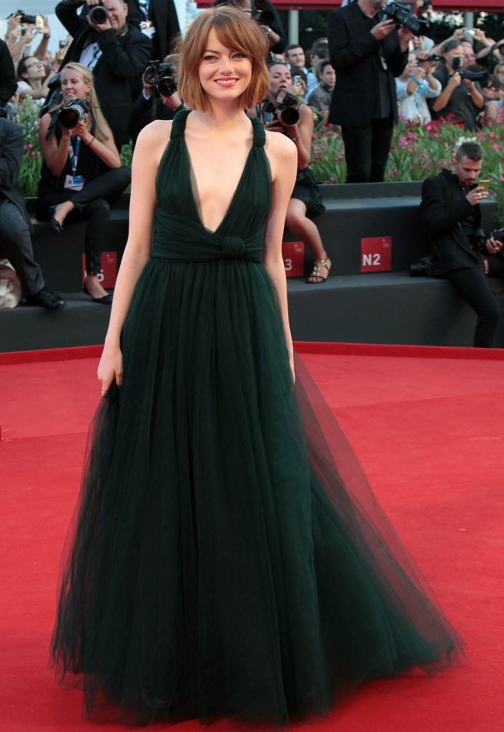 Эмма Стоун в Valentino Couture