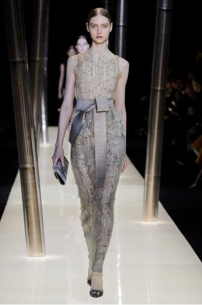 На Неделе высокой моды в Париже прошел юбилейный показ Giorgio Armani Prive | галерея [2] фото [29]