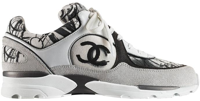 Кроссовки, Chanel.