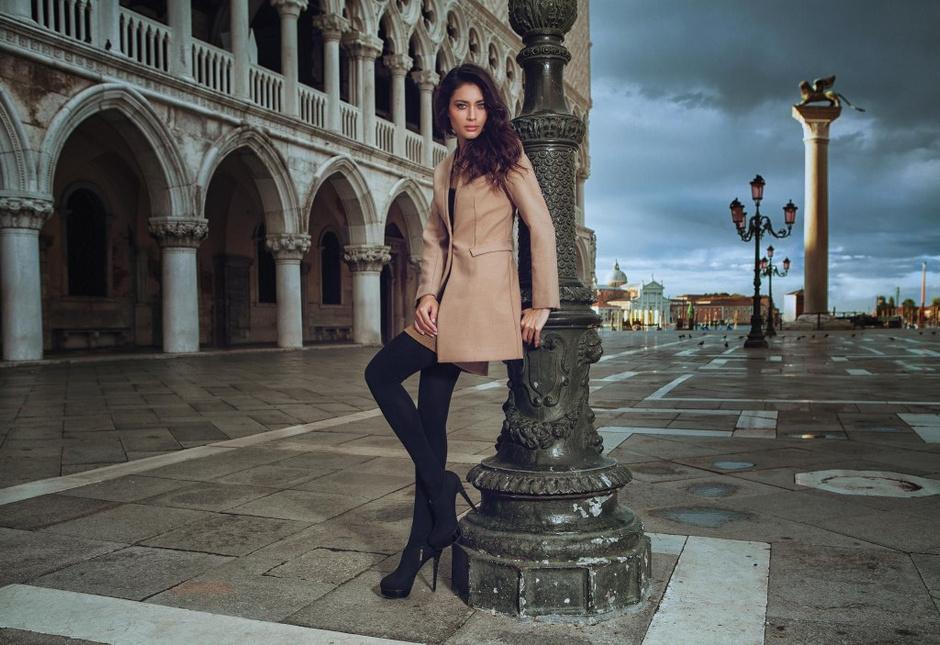 Видео со съемок новой рекламной кампании Incanto в Венеции