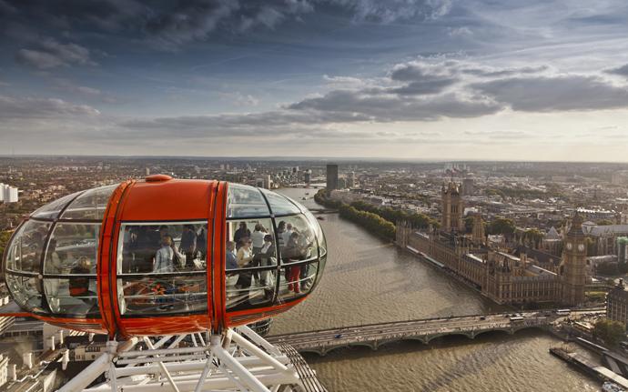 Колесо обозрения London Eye Лондон