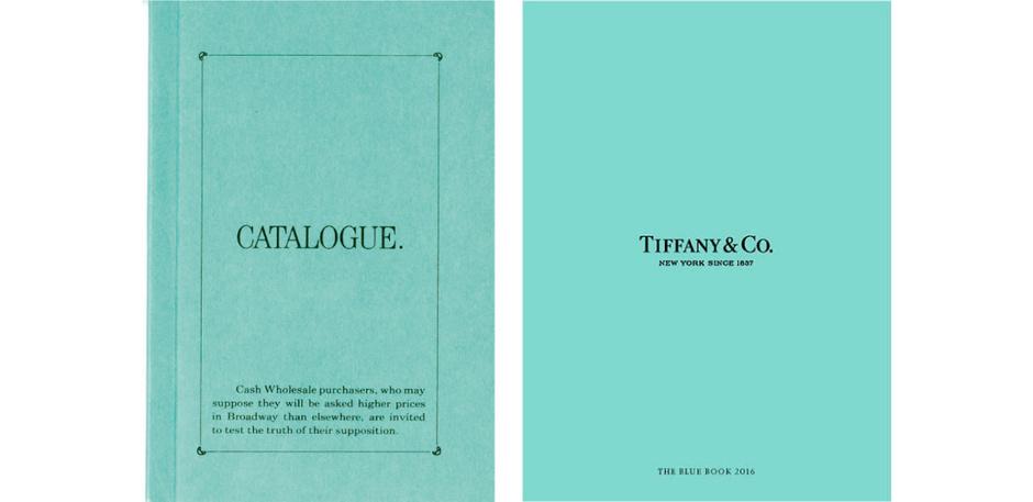 Каталог Blue Book образца 1845 и 2016 гг.