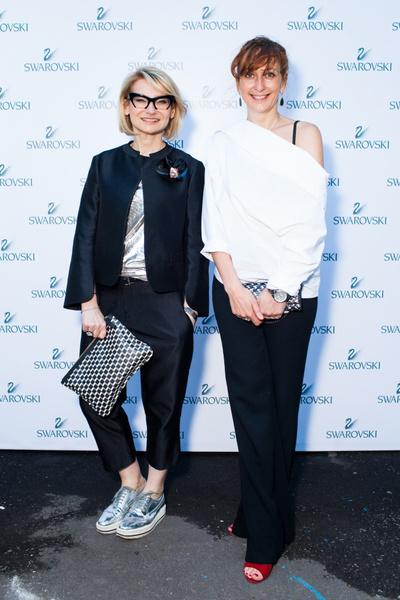 Эвелина Хромченко и Анна Артамонова