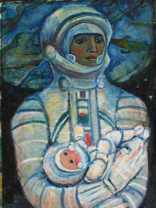 Галина Конопацкая, «Космическая мать», 1970