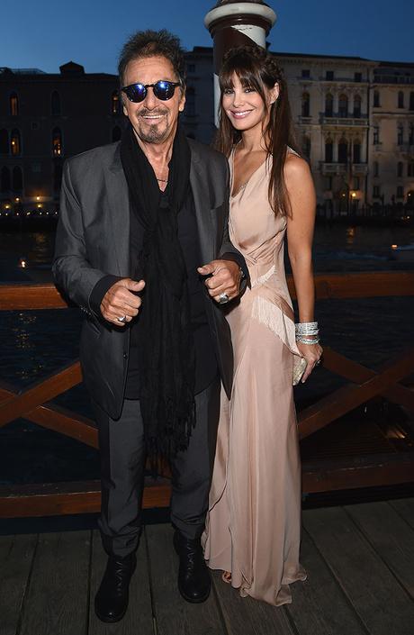 Аль Пачино и Лючила Сола
