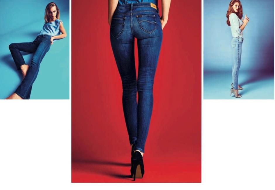 Бренд Lee представляет обновленную линейку женских джинсов