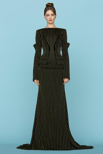 Ульяна Сергеенко представила новую коллекцию на Неделе высокой моды в Париже | галерея [1] фото [6]