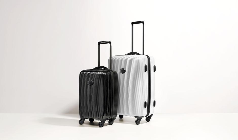 Марка Longchamp выпустила коллекцию чемоданов Fairval