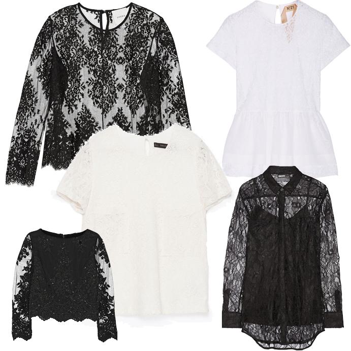 Модные блузки весна лето 2015 2