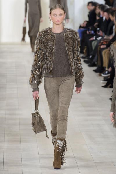 Показ Ralph Lauren на Неделе моды в Нью-Йорке | галерея [1] фото [37]