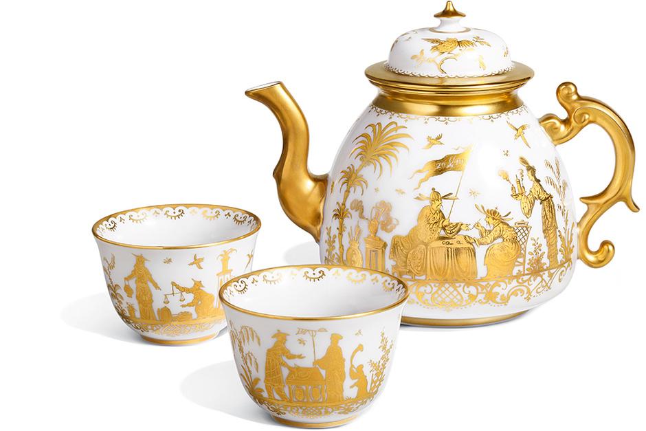 Чайник и чашка Chinoiserie