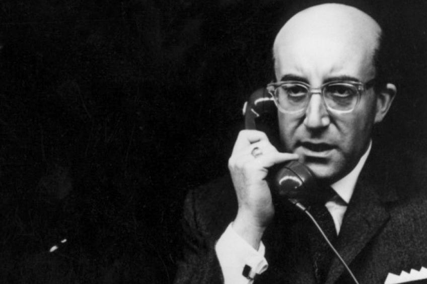 Президент Меркин Маффли (Питер Селлерс) «Доктор Стрейнджлав» (Dr. Strangelove), 1964