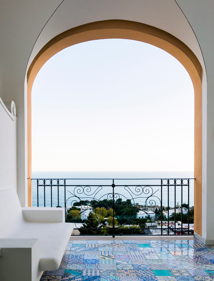 Oтель Capri Tiberio Palace