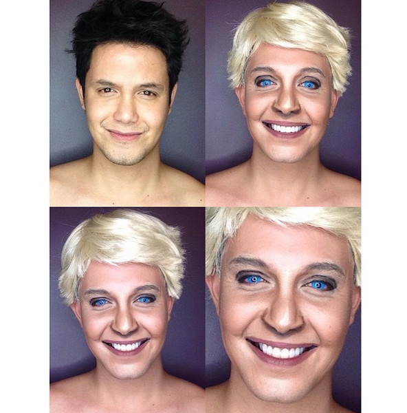 Филиппинский визажист перевоплотился в звезд с помощью макияжа | галерея [1] фото [10]