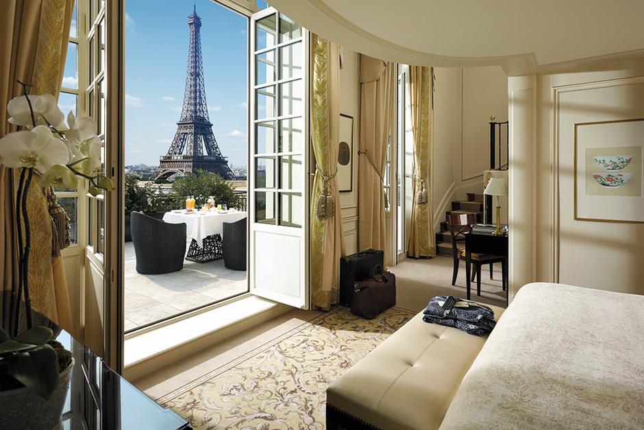 Сьют Eiffel Duplex Terrace