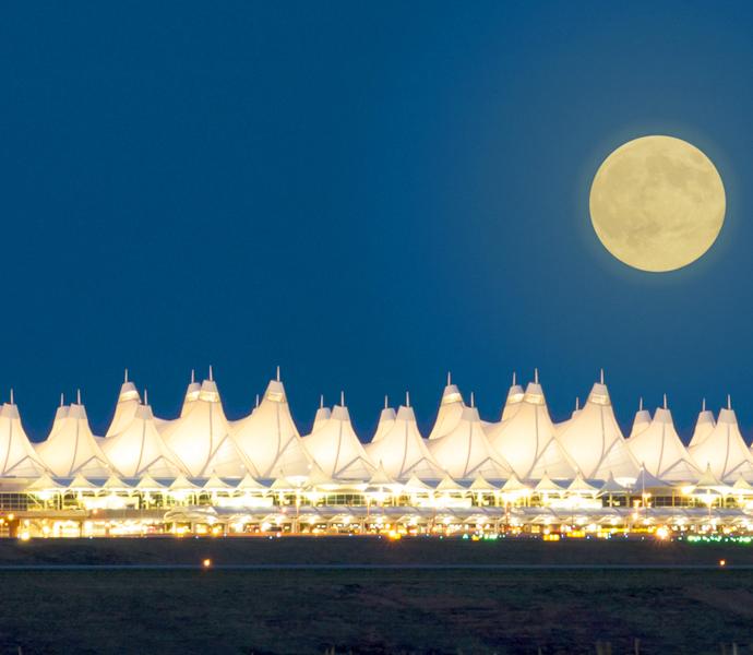 Аэропорт Денвера США какой самый большой аэропорт в мире