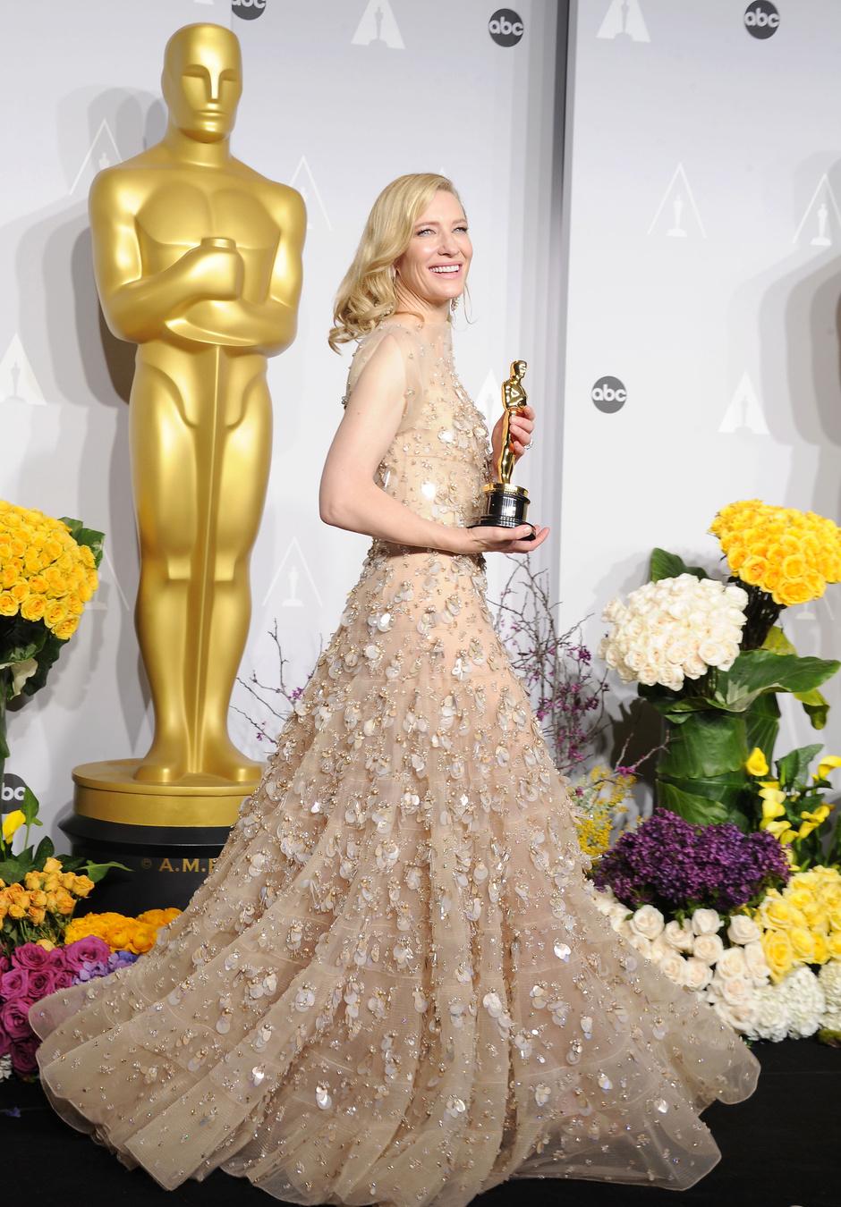 Кейт Бланшетт на церемонии вручения кинонаград «Оскар», 2014 год