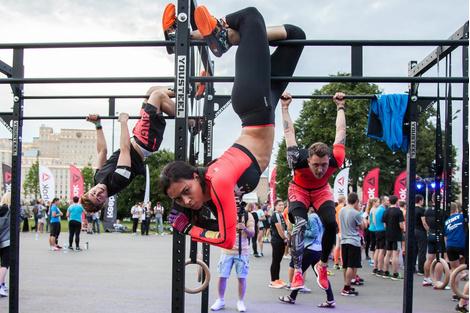 Спортивная хроника: звездные участники тренировок Reebok | галерея [1] фото [5]